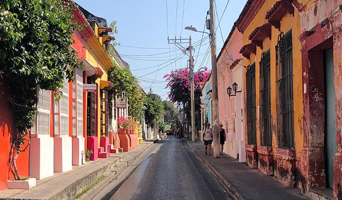 Carthagène : couleur, touristes et bouffe !